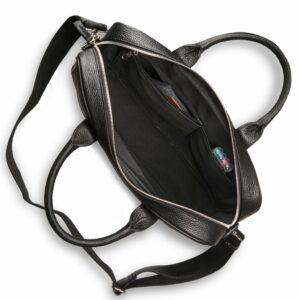 Деловая черная мужская сумка для документов BRL-12997 234165