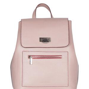 Деловой розовый женский рюкзак FBR-1781