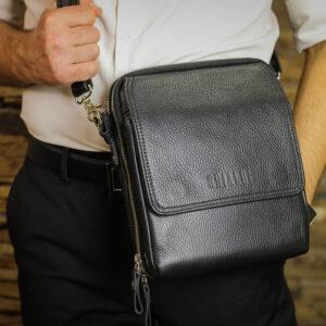 Уникальная черная мужская сумка BRL-26688 235233