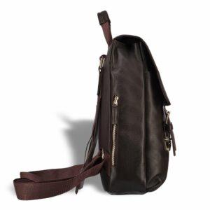 Удобный коричневый мужской рюкзак для ручной клади BRL-17457 234311