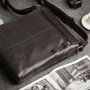 Неповторимая коричневая мужская сумка для документов BRL-11724 233893