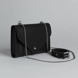 Вместительная черная женская сумка FBR-2629