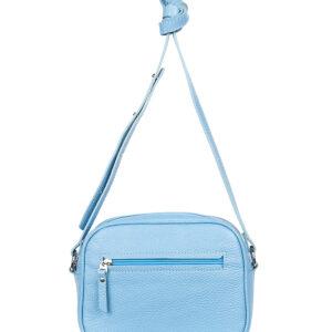 Деловая голубая женская сумка через плечо FBR-905