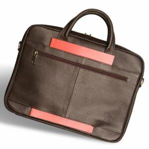Уникальная коричневая мужская классическая сумка BRL-12052 233966