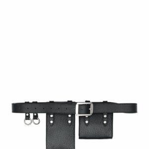 Модная черная женская поясная сумка FBR-2472 235992