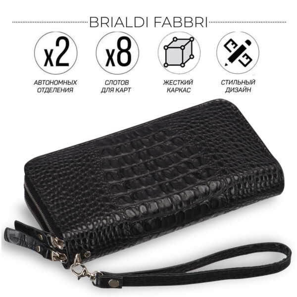 Уникальная черная мужская сумка для мобильного телефона BRL-19830