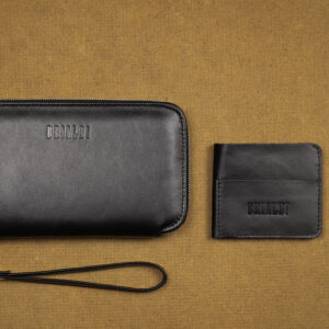 Неповторимая черная мужская сумка для мобильного телефона BRL-23091 234741