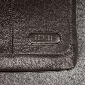 Неповторимая коричневая мужская сумка для документов BRL-11724 233909