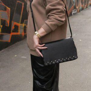 Стильный черный женский клатч FBR-2122 235889