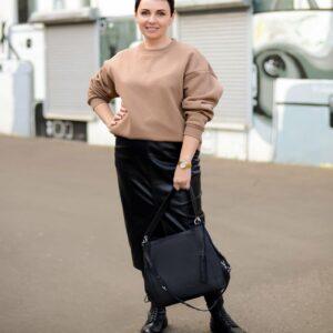 Неповторимая черная женская сумка FBR-2350 235970