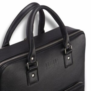 Солидная черная мужская классическая сумка BRL-23166 235081