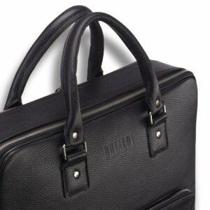 Солидная черная мужская классическая сумка BRL-23166 235079