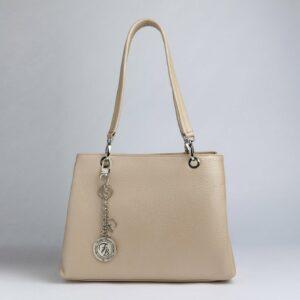Неповторимая бежевая женская сумка FBR-1775