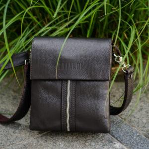 Неповторимая коричневая мужская сумка BRL-19864 234601