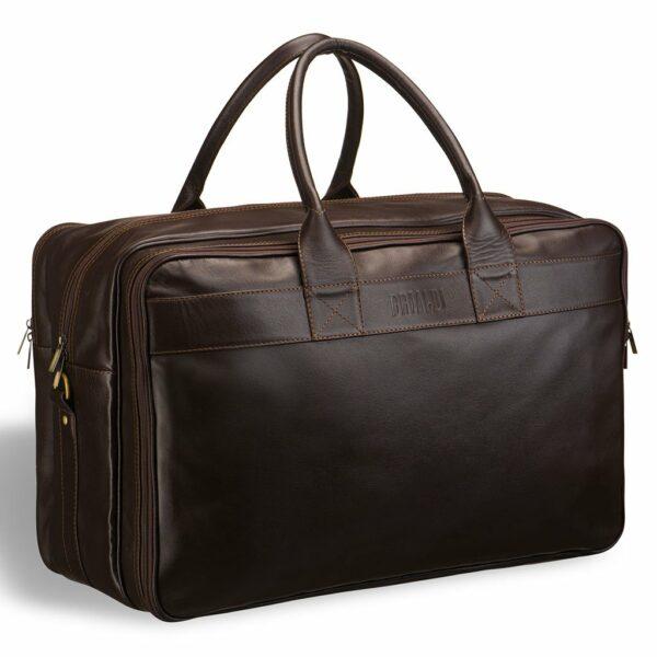 Неповторимая коричневая дорожная сумка для командировок BRL-7402