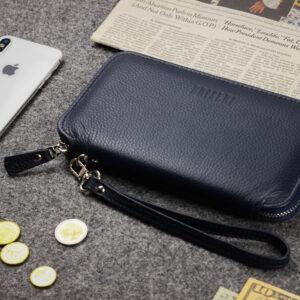 Солидная синяя мужская сумка для мобильного телефона BRL-23098 234815