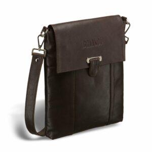 Неповторимая коричневая мужская сумка для документов BRL-132