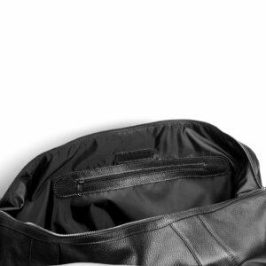 Кожаная черная мужская сумка BRL-11874 233907