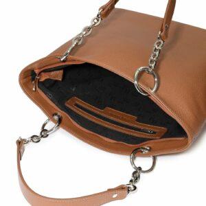 Неповторимая коричневая женская сумка FBR-2635 236029