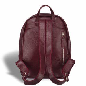 Солидный бордовый женский городской рюкзак BRL-17482 234323