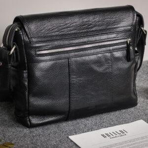 Удобная черная мужская сумка для документов BRL-12995 234170