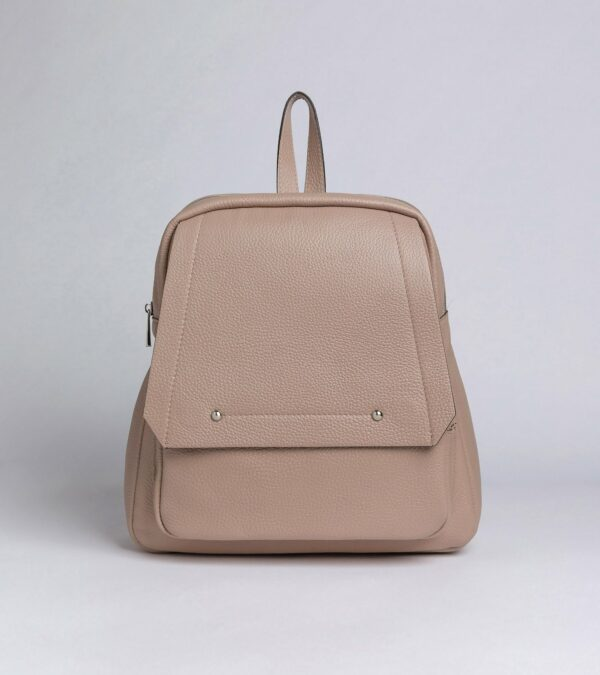 Деловой бежевый женский рюкзак FBR-2887