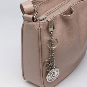 Удобная бежевая женская сумка FBR-2879 236110