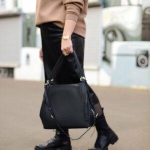 Неповторимая черная женская сумка FBR-2350 235972