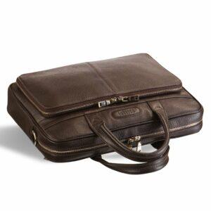 Уникальная коричневая мужская классическая сумка BRL-12052 233962