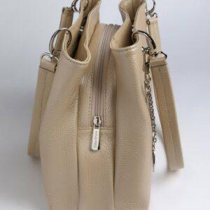 Неповторимая бежевая женская сумка FBR-1775 235860