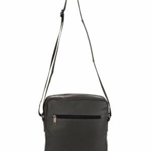 Кожаная серая мужская сумка через плечо FBR-1720 235846