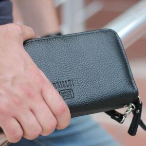 Деловая черная мужская сумка для мобильного телефона BRL-19832 234440