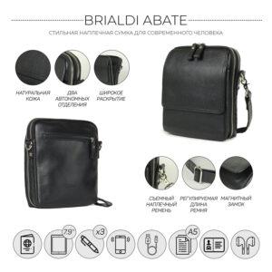 Уникальная черная мужская сумка BRL-26688 235188