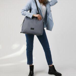 Модная серая женская сумка FBR-2690 236058