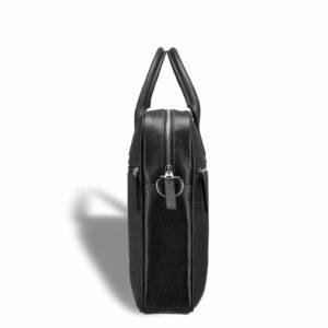 Деловая черная мужская сумка для документов BRL-12997 234157