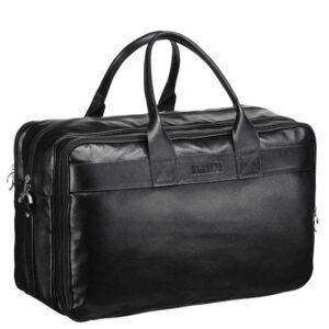 Уникальная черная мужская сумка для командировок BRL-155