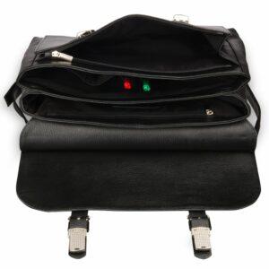 Удобная черная мужская сумка BRL-17441 234282