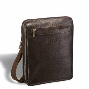 Уникальная коричневая мужская сумка для документов BRL-12057