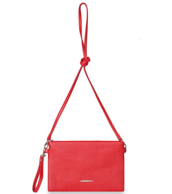 Функциональная красная женская сумка FBR-1428