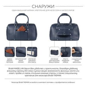 Удобная синяя сумка спортивная BRL-23332 235181
