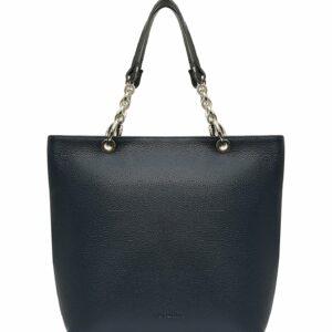 Кожаная синяя женская сумка FBR-1346