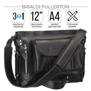 Вместительный черный рюкзак BRL-28404