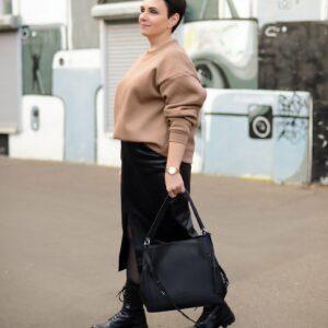 Неповторимая черная женская сумка FBR-2350 235971
