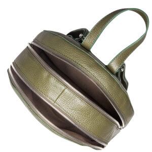 Неповторимый желтовато-зелёный женский рюкзак FBR-1137 233118