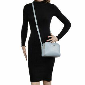 Стильная голубая женская сумка FBR-2473 236821