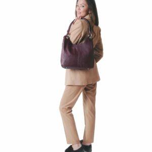 Неповторимая бордовая женская сумка FBR-2345 236796