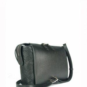Солидная черная женская сумка через плечо FBR-2600 236853