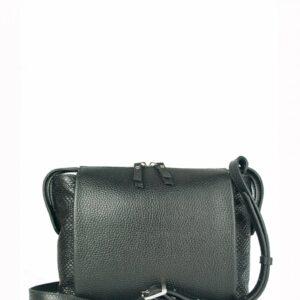 Солидная черная женская сумка через плечо FBR-2600 236852