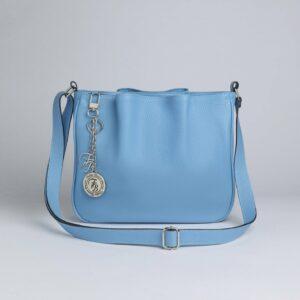 Модная голубая женская сумка FBR-189