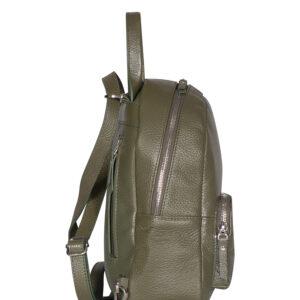 Модный желтовато-зелёный женский рюкзак FBR-1267 236689